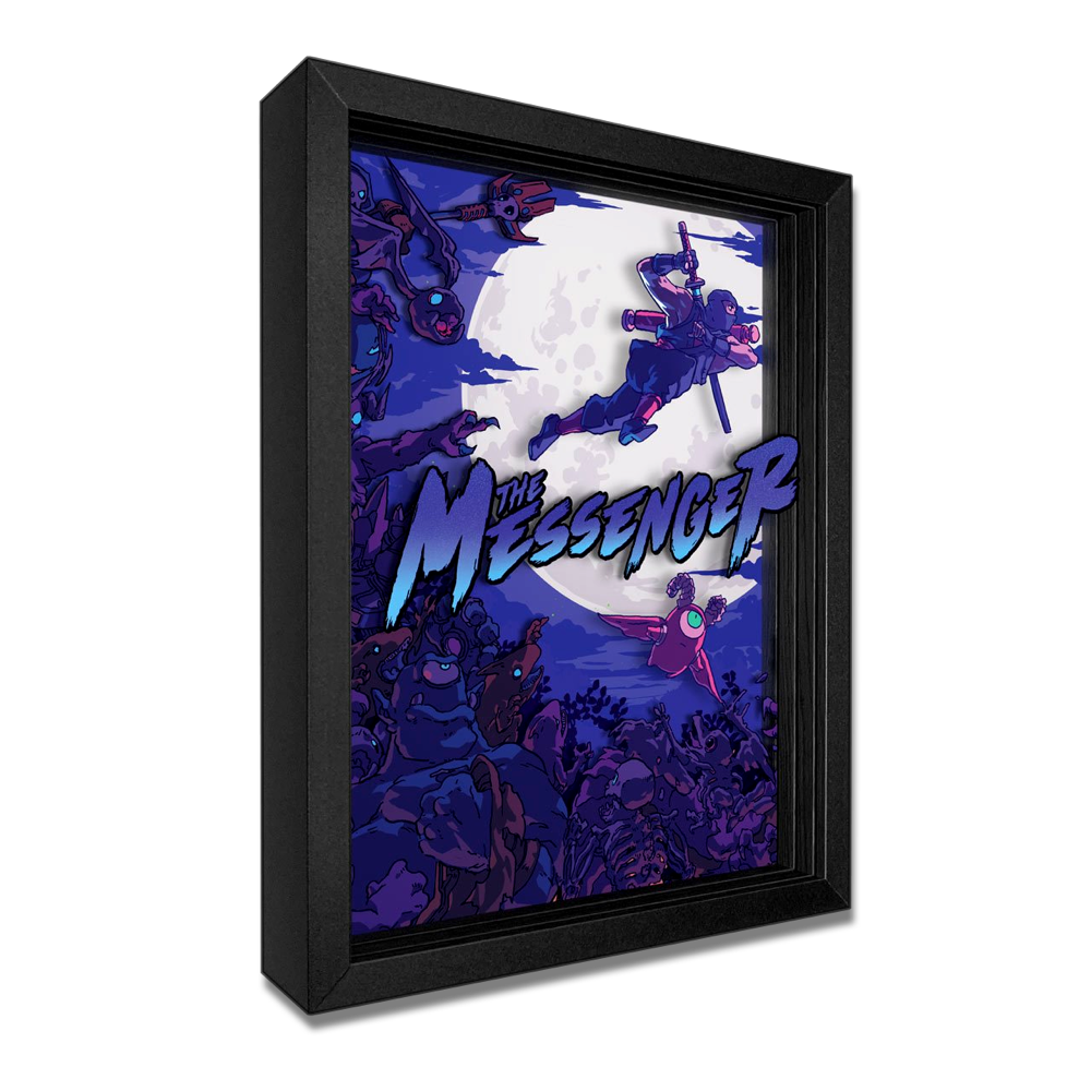 The Messenger Shadowbox Art - $129.00 USD